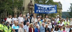 An inter-faith walk in Keighley